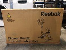 REEBOK Z-POWER EXERCISE BIKE, BLACK