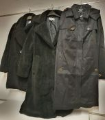 ONE LOT TO CONTAIN ONE BAG OF MIXED LADIES COATS / JACKETS - 5 ITEMS. (ASSORTED SIZES AND COLOURS,