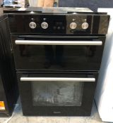 HOTPOINT CLASS 2 BUILT IN DOUBLE ELECTRIC OVEN / RRP £409.00 / CONDITION REPORT: UNTESTED CUSTOMER