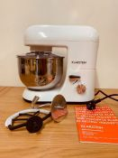 KLARNSTEIN BELLA MORENA STAND MIXER / RRP £110.00 / CONDITION REPORT: BOXED AND UNTESTED CUSTOMER