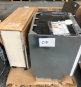 1 X BULK PALLET TO CONTAIN 3 ITEMS SOURCED FROM JOHN LEWIS / INCLDUING DISHWASHER, OUTDOOR GARDEN