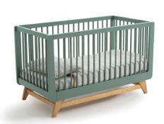 LA REDOUTE WILLOX ADJUSTABLE COT BED (70 X 140CM)