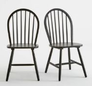 LA REDOUTE WINDSOR SET OF 2 CHAIRS