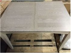 JOHN LEWIS ALBA 120-160CM DINING TABLE RRP £350 SOURCED FROM JOHN LEWIS DEPARTMENT STORES -
