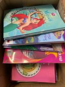 ONE LOT TO CONTAIN AN ASSORTMENT OF BOOKS (CUSTOMER RETURNS UNTESTED BY DMR)