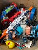 ONE LOT TO CONTAIN A LARGE ASSORTMENT OF TOYS (CUSTOMER RETURNS UNTESTED BY DMR)