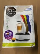 ONE LOT TO CONTAIN ONE NESCAFE DOLCE GUSTO COFFEE MACHINE RRP £79.00 (CUSTOMER RETURNS UNTESTED BY