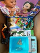 ONE LOT TO CONTAIN AN ASSORTMENT OF TOYS (CUSTOMER RETURNS UNTESTED BY DMR)