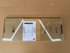 ONE LOT TO CONTAIN A SVALNAS IKEA SHELF RRP £20.00 (CUSTOMER RETURNS UNTESTED BY DMR)