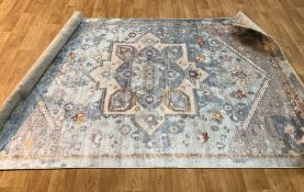 TIVOLI GROTE FLORAL BLUE RUG / SIZE: 160 X 240CM BY WELL WOVEN
