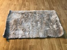 MAKAILA HAND TUFTED CHAMPAGNE RUG / SIZE: 90 X 150CM BY ROSDORF PARK
