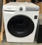 SAMSUNG FREESTANDING WASHING MACHINE - WW80T854DBH/S1 / RRP £849.00 / CONDITION REPORT: UNTESTED