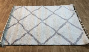 CABANA WHITE RUG / SIZE: 160 X 220CM BY WELL WOVEN
