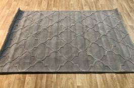 BERTRANGE HAND-TUFTED BROWN AREA RUG / SIZE: 150 X 230CM BY LATITUDE VIVE