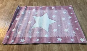 SESSION SHAG PINK RUG / SIZE: 120 X 170CM BY 17 STORIES