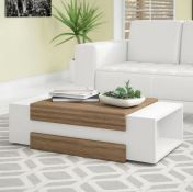 MARKSBURY COFFEE TABLE WITH STORAGE BY 17 STORIES