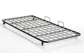 LA REDOUTE POCUS INDUSTRIAL STYLE STEEL TRUNDLE BED / SIZE: 90 X 190cm