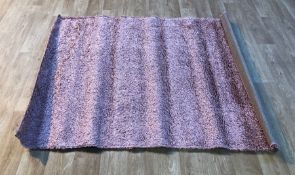 EPPERSON SHAG PINK RUG / SIZE: 120 X 170CM BY ROSDORF PARK