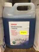 1 LOT TO CONTAIN A 5L TUB OF STAPLES MULTIPURPOSE CLEANER - L7
