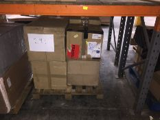 1 X BULK PALLET TO CONTAIN 5 ASSORTED FILING CABINETS, SIZES AND COLOURS VARY - L7