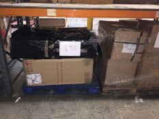 1 X BULK PALLET TO CONTAIN 6 ASSORTED FILING CABINETS, SIZES AND COLOURS VARY - L7