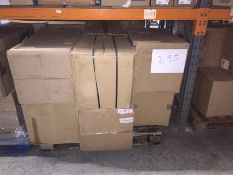 1 X BULK PALLET TO CONTAIN 7 ASSORTED FILING CABINETS, SIZES AND COLOURS VARY - L7