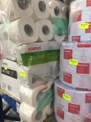 1 LOT TO CONTAIN 3 PACKS OF ASSORTED STAPLES TOILET ROLLS TO CONTAIN 24 ROLLS - L7