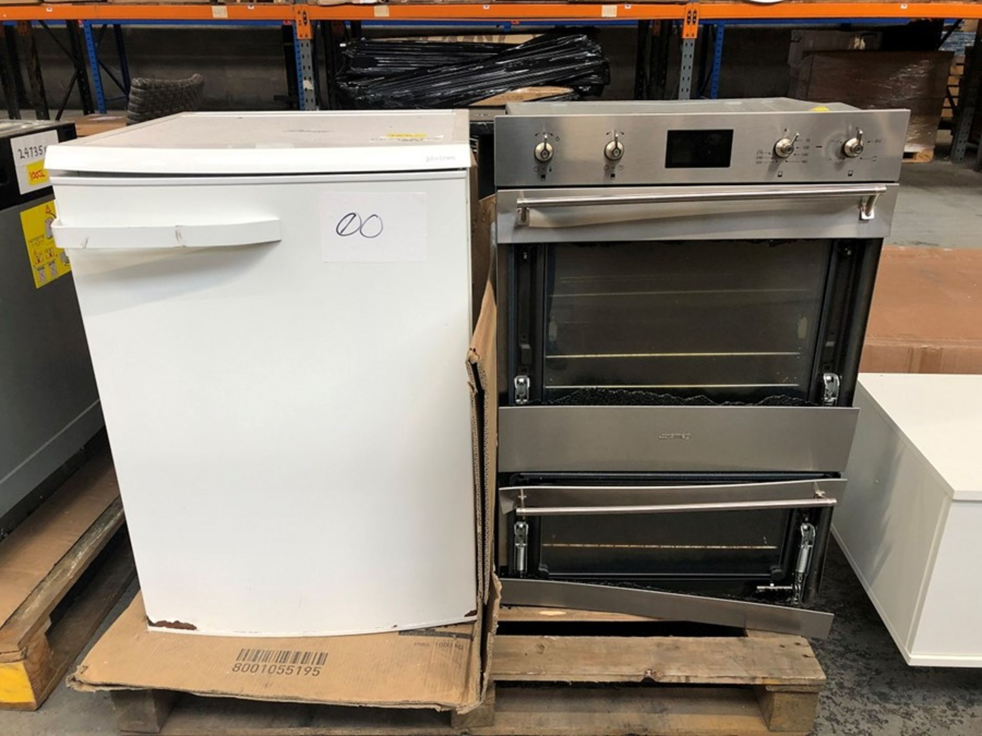 1 X BULK PALLET TO CONTAIN 2 ASSORTED APPLIANCES SOURCED FROM JOHN LEWIS / CONDITIONS VARY / ITS