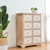 MILAN 8 DRAWER CHEST