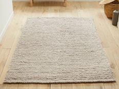 LA REDOUTE DIANO PURE WOOL KNIT EFFECT RUG (200X290CM)