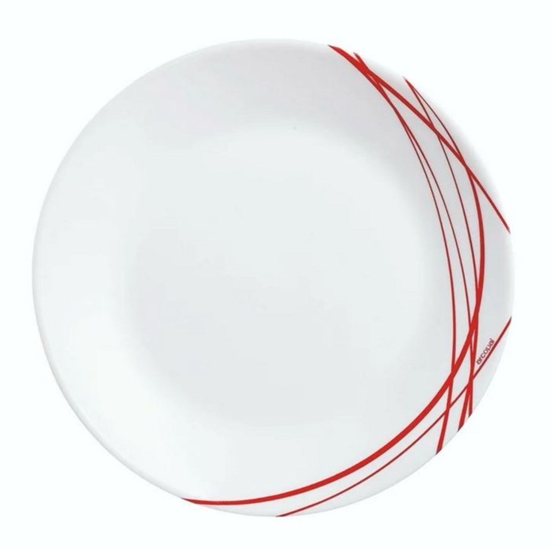 DOMITILLE 18 PIECE DINNERWARE SET, SERVICE FOR 6