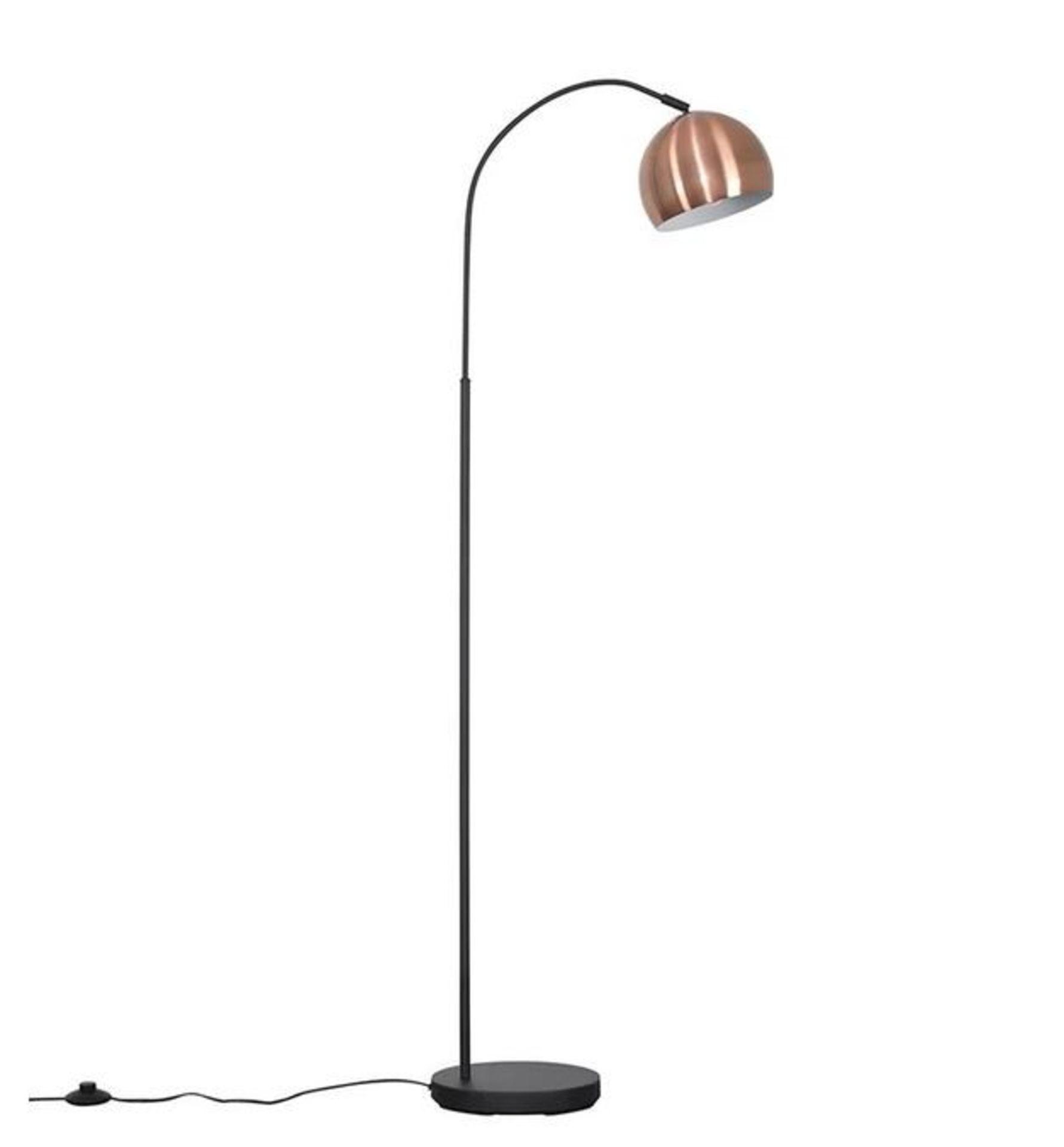 DEROSIER 150CM ARCED FLOOR LAMP