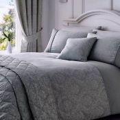 BERKELEY DUVET COVER SET / SIZE: SINGLE