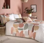 DECK 180 TC PERCALE DUVET COVER SET / SIZE: KING