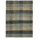 LA REDOUTE MARLEY CHECKED JUTE RUG (160X230CM)