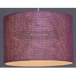GLITZY 30CM DRUM LAMP SHADE