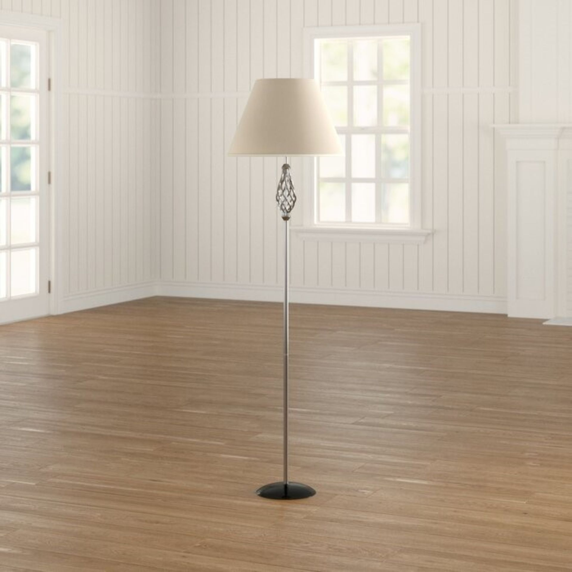 BRATTON 155CM TRADITIONAL FLOOR LAMP BY THREE POSTS