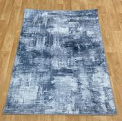LA REDOUTE RIO GREY THINK RUG (120X170CM)