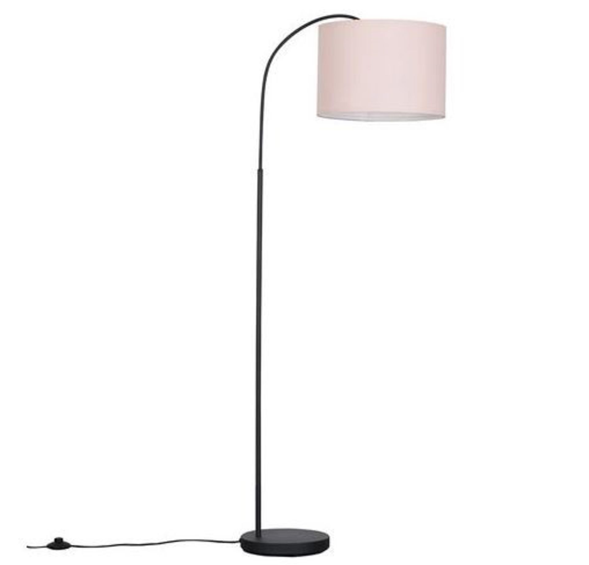 DU BOSE CURVA 210CM ARCHED/ARC FLOOR LAMP. BULB INCLUDED