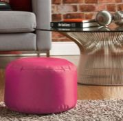MCKENNA POUFFE / COLOUR - PINK BY ZIPCODE DESIGN