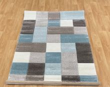 LA REDOUTE BROOKLYN 646 BLUE THINK RUG (120X170CM)