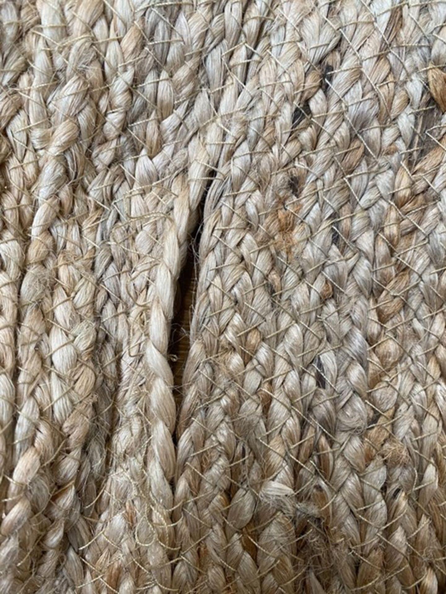 LA REDOUTE AFTAS ROUND JUTE RUG (100CM DIAMETER) - Image 2 of 2
