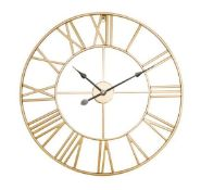 OVERSIZED FRISON SILENT WALL CLOCK