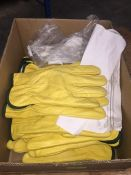 1 LOT TO CONTAIN A BOX OF CLICK 2000 LINED DRYERS GLOVES IN SIZE LARGE L-8