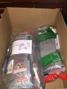 1 LOT TO CONTAIN A BOX OF WORK GLOVES AND A SET OF DRAPER PLIERS L-8