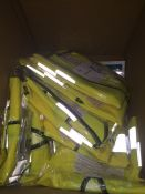 1 LOT TO CONTAIN 12 X HIGH VIS VESTS IN SIZE 3XL L-8