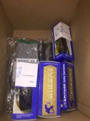 1 LOT TO CONTAIN A BOX OF SAFETY GLOVES AND SAFETY SPECTACLES L-8