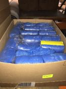1 LOT TO CONTAIN 8 PACKS OF MEDICAL HEAD/FEET COVERINGS, EACH PACKS CONTAINS 10 ROLLS AND EACH