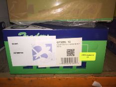 1 LOT TO CONTAIN A BOX OF CLICK 2000 BLACK COMPOSITE CHUKKA SAFTEY BOOTS IN SIZE 12 L-8