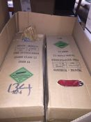 1 LOT TO CONTAIN 2 X FIRE EXTINGUISHERS L-8